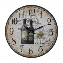 Sterling Industries 118-032 - Wine Bottles Wall Clock