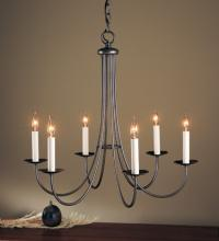 Hubbardton Forge 101160-03-CTO - Simple Lines 6 Arm Chandelier